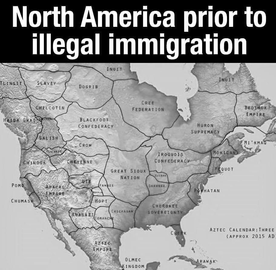 we secured our borders from the terrorists who stole our land after killing us off and rewriting history to