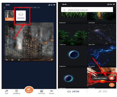 Cara Membuat Wallpaper 3D Keren Dengan Foto Sendiri Di HP Android