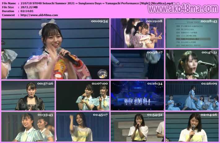 Sunglasses Days ~ Yamaguchi Performance