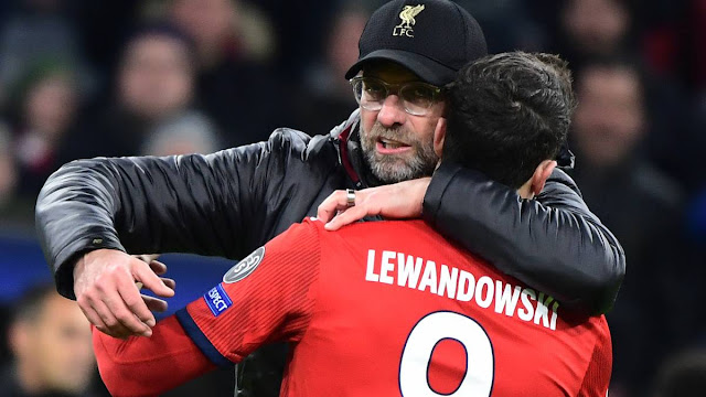 'You can go through fire for a coach like that' - Lewandowski open up about how Klopp made him a player he is, Lewendowski is grateful to Jurgen Klopp