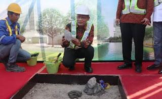 Pengusaha Asal Sulit Air, Solok, Bangun Masjid Megah di Bantul, Yogyakarta