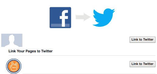 Connect Facebook Page To Twitter