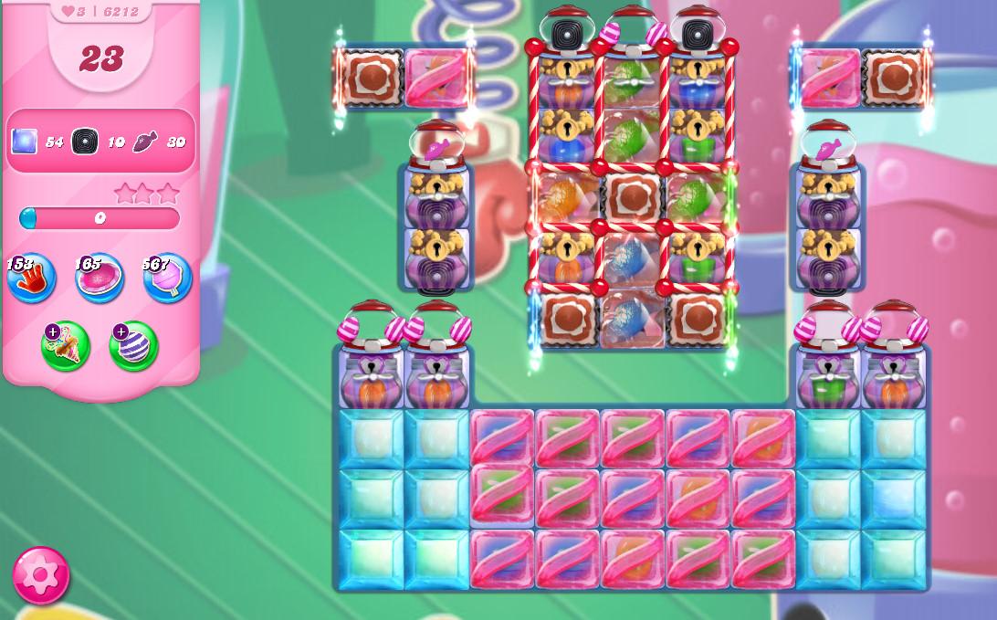 Candy Crush Saga level 6212