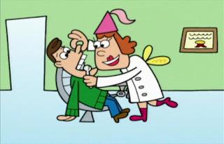 the Tooth Fairy appears as a dentist. Sesame Street Elmo's World Teeth TV Cartoon. The Teeth channel