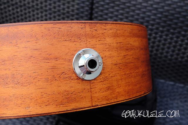 takamine egu-c1 concert ukulele jack socket