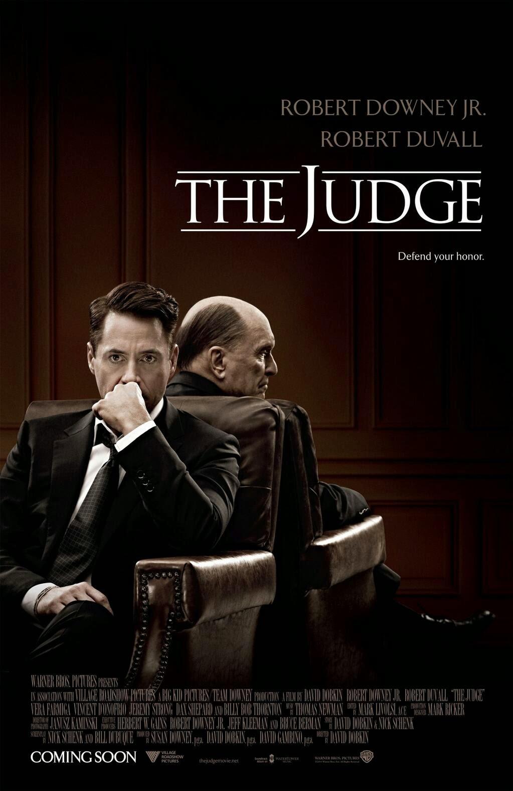 sędzia recenzja filmu robert downey jr. robert duvall