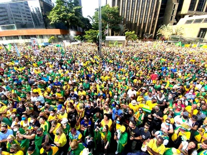 BRASIL | O 1º de Maio Verde Amarelo, movimento pro-Bolsonaro