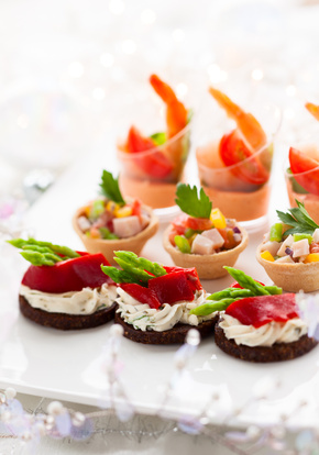 complimentary appetizers