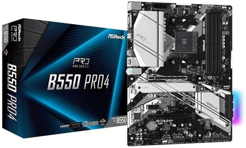 Review ASRock B550 PRO4 Motherboard