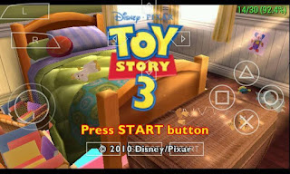 Game Toy Story 3 ISO PPSSPP Download