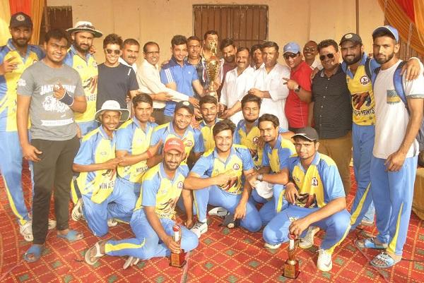 रावल क्रिकेट अकादमी ने जीता रविंदर फागना क्रिकेट लीग