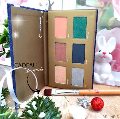 """BIOTYfull Box """"Raffinée & Scintillante"""" palette maquillage"""