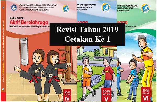 Buku Guru PJOK Kelas 4,5,6 K2013 Edisi Revisi Tahun 2019