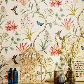 Bring vintage patterns into your room design