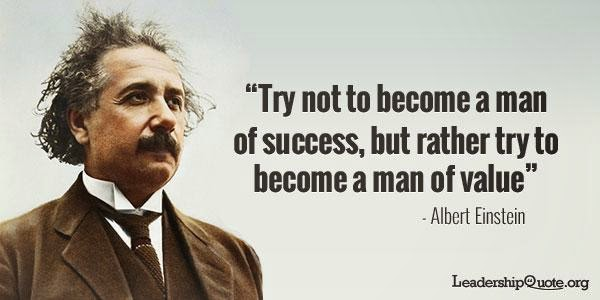 Albert Einstein Quotes Strive Not Success: Success Quotes By Famous People. QuotesGram