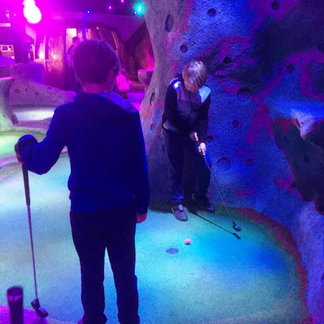 A Family Day Out at Space Golf, Newcastle – All You Need To Know