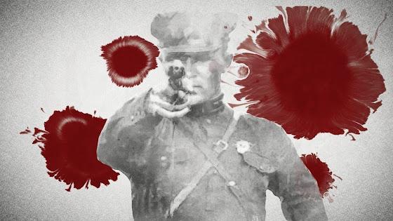 Soviet Union NKVD Stalin Poland genocide violence purge history crime