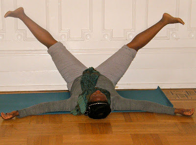 selfcare challenge  day two a restorative yoga pose for