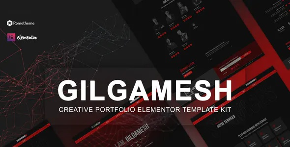 Best Creative Portfolio Elementor Template Kit