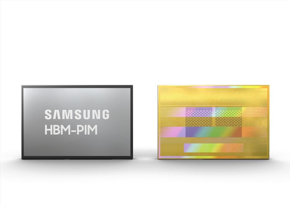 삼성전자, HBM2 Aquabolt에 AI 엔진 탑재 HBM-PIM 개발