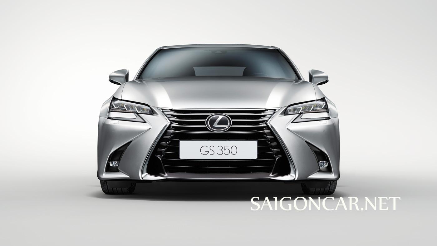 đầu xe Lexus GS 350 2019