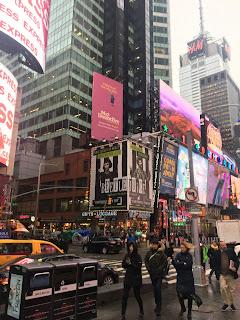 Times Square New York City Broadway Billboards 2020