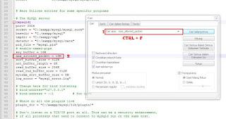 Mengubah max_allowed_packet di wordpress