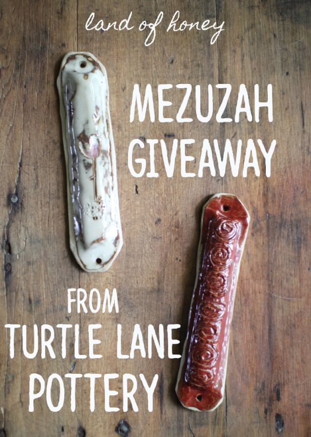 Enter to win a set of handmade mezuzahs for your home! | Land of Honey