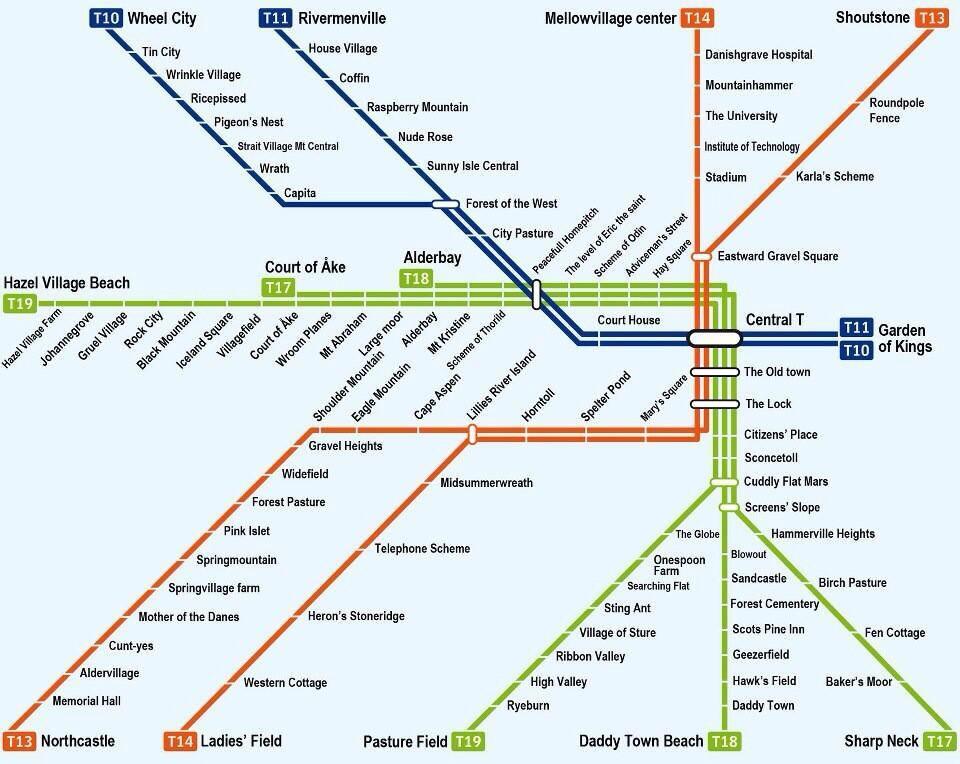 t bana stockholm karta Stockholm Metro – a fun guide | The SBS Student Blog t bana stockholm karta