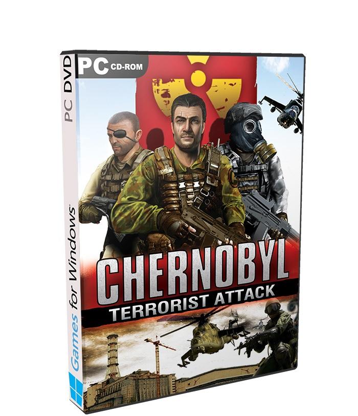 Chernobyl Terrorist Attack poster box cover