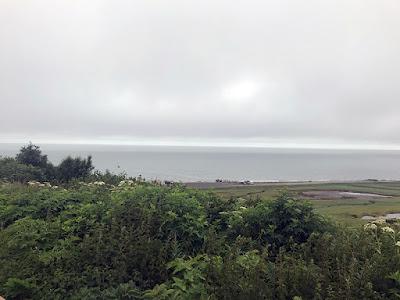 View from Volcano View RV Park - Ninilchik, Alaska