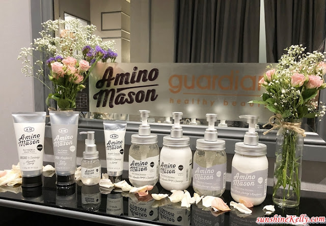 Amino Mason, Botanical Hair Care,  The Moist Hair Care Series, The Smooth Hair Care Series, Eight Days Salon, Ikano Power Centre, Guardian Malaysia, Hair Care, Beauty,