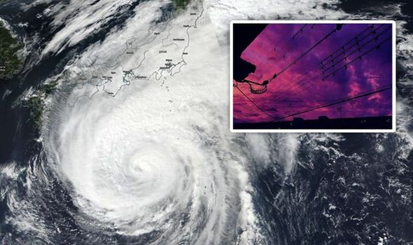Japan, Typhoon Hagibis