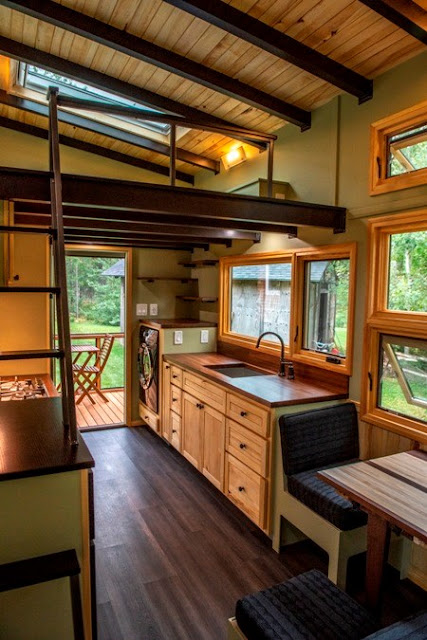 tiny house with screened porch
