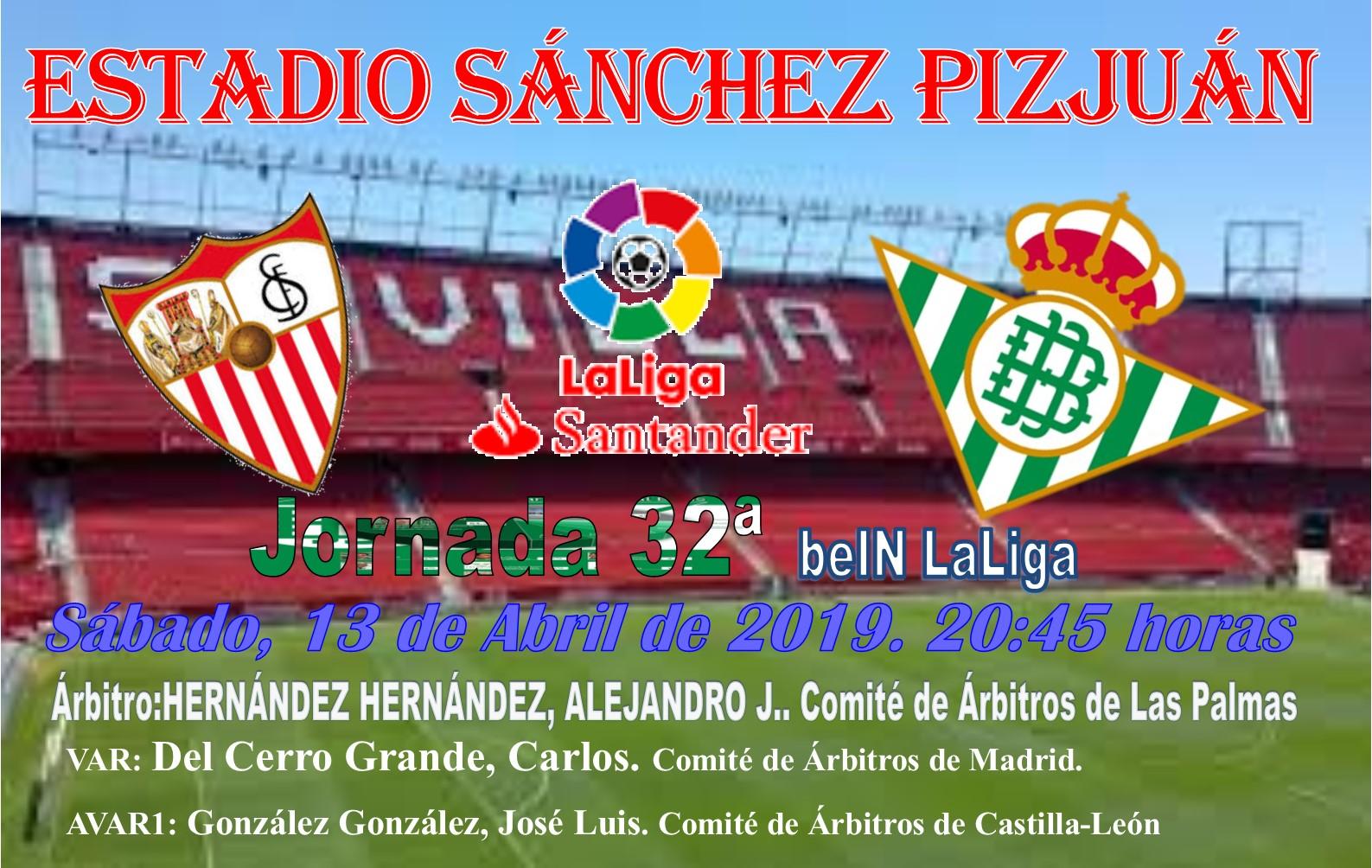 Calendario Liga Santander 2019 20 Betis.F P R B El Gran Derbi