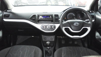 Interior KIA Picanto dan KIA Morning