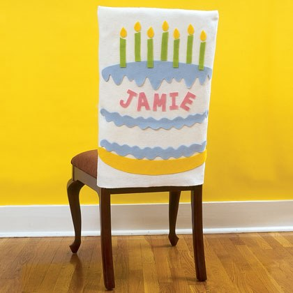 Birthday Throne Chair Covers