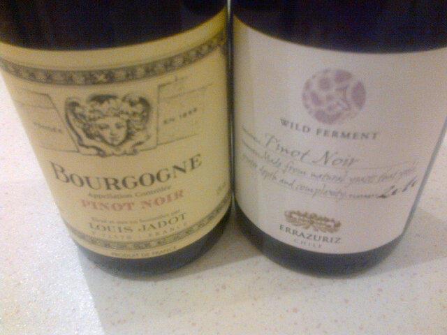 The Cambridge Wine Blogger The Cwb Pinot Off Burgundy Vs