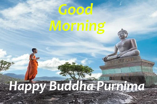 Good Morning Happy Buddha Purnima