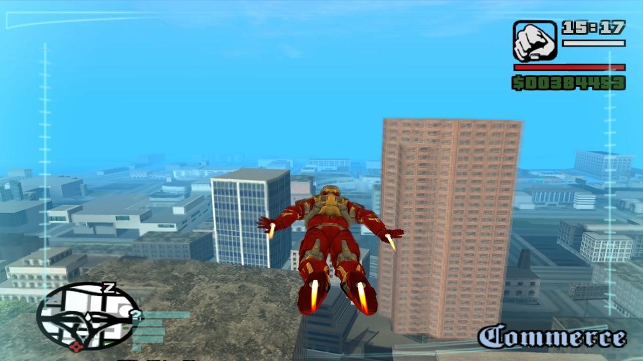 MOD GTA SA - Iron Man V1 0 (HOMEM DE FERRO) ~ Net Novice