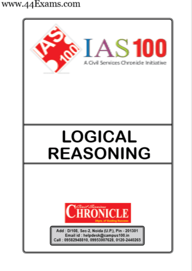 Logical-Reasoning-by-Chronicle-IAS-Academy-For-All-Competitive-Exam-PDF-Book
