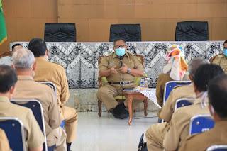 "H.Marwan Hamami""Mesjid Buka, Camat Dan Kades Tolong Bantu Protokol Kesehatan"