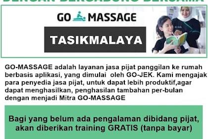Lowongan Kerja Go Massage Tasikmalaya