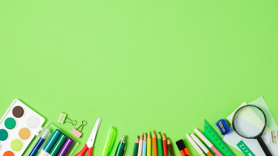 PowerPoint Background green
