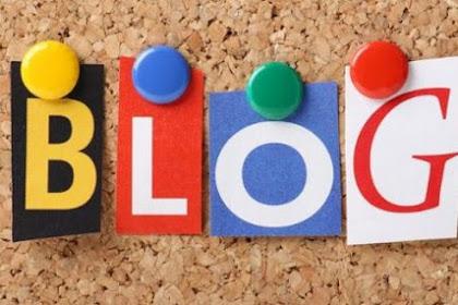 Saya Sekarang Memiliki Sebuah Blog