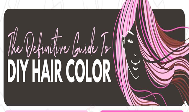 DIY-colored hair #infographic