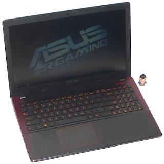 Laptop Gaming ASUS X550IU AMD FX CrossFire 2nd di Malang