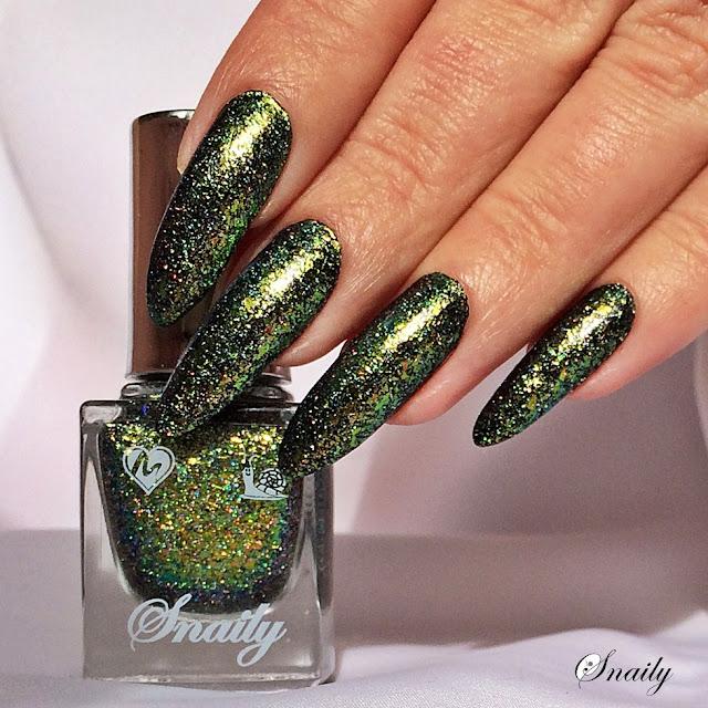 Snaily 10 - Zielone flejki + holo