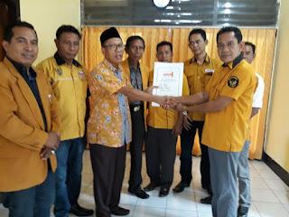 <b>Mudahan Pecat Ahmad Dahlan, Tunjuk Jalil Sebagai Ketua DPC Hanura Kabupaten Bima</b>