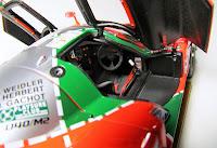 AUTOart 1991 Le Mans Winner Mazda 787b cockpit